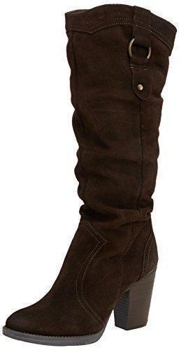 Oferta: 188.28€ Dto: -34%. Comprar Ofertas de Steve Madden Gambbler - Botas de cuero para mujer, color marrón, talla 38 barato. ¡Mira las ofertas!