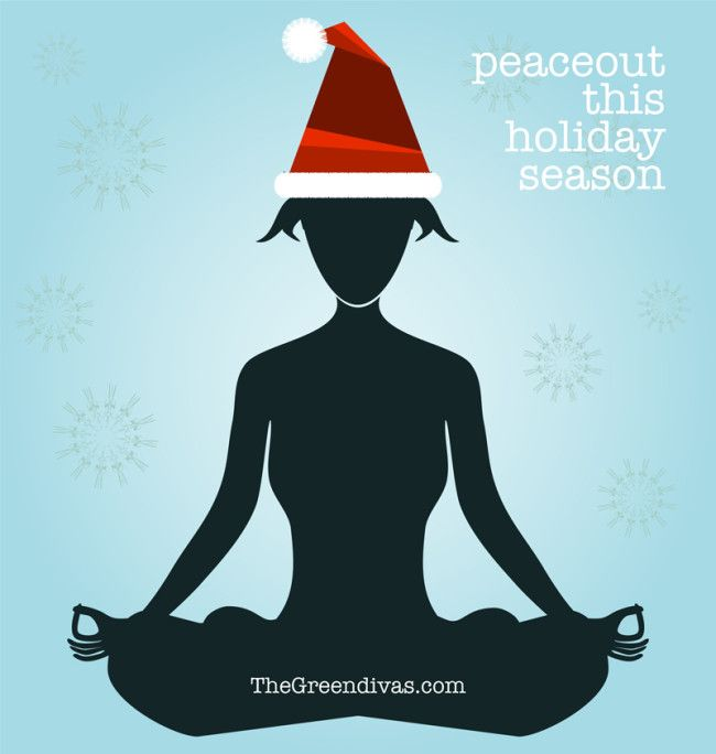 Peaceout w/ tips for healthy holidays from the green divas!