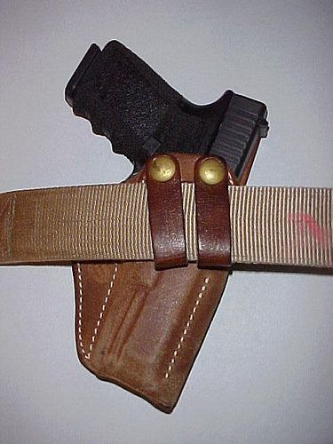 BEST CONCEALED HOLSTER:  Milt Sparks SS2  // Concealed carry holster  made by a master. Its horsehide construction and refined design makes it comfortable and effective.