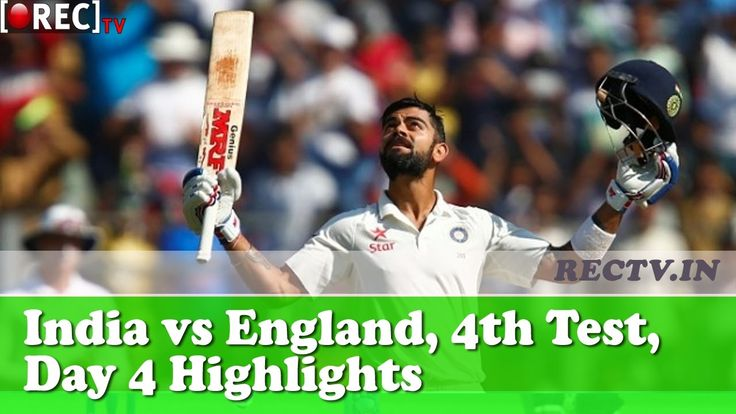 India vs England 4th Test Day 4 Highlights  ll latest sports news updates