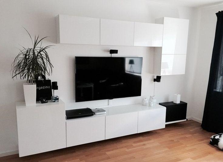 25 best Déco salon images on Pinterest Living room ideas, Tv walls