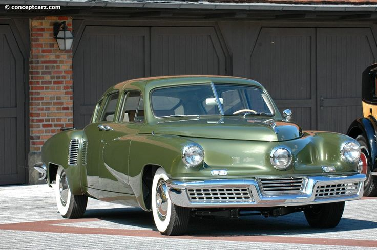 Here it is in green--Gorgeous!!!!!!! Tucker automobile | 1948 Tucker 48 (Torpedo, Forty-Eight) | Conceptcarz.com