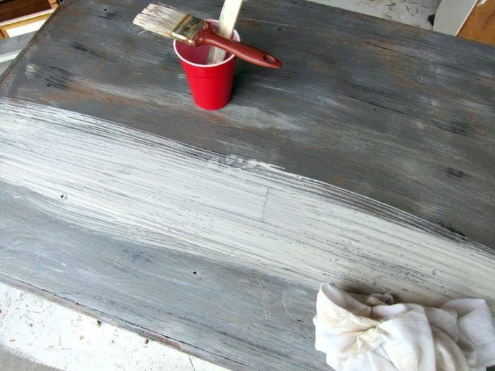 legno stagionato finitura grigio esercitazione Petticoat Junktion