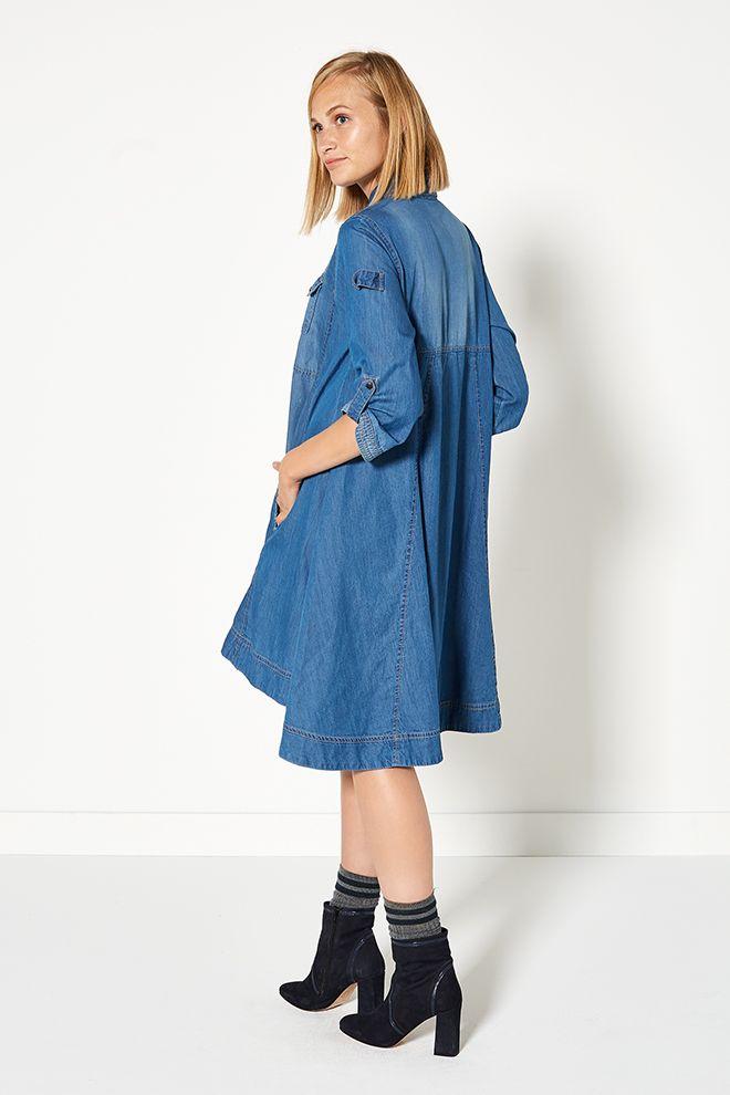 Glamping | Fashion | Denim dress | Blue | Lookbook