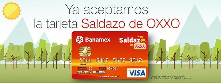 """Amazon México ya permite pagar con las tarjetas """"Saldazo"""" de OXXO - http://webadictos.com/2015/12/17/amazon-mexico-tarjetas-saldazo-oxxo/?utm_source=PN&utm_medium=Pinterest&utm_campaign=PN%2Bposts"""