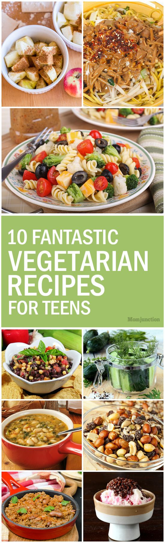 Best 25 healthy vegetarian foods ideas on pinterest healthy 10 fantastic vegetarian recipes for teens vegetarian cuisinevegetarian dinnershealthy forumfinder Choice Image