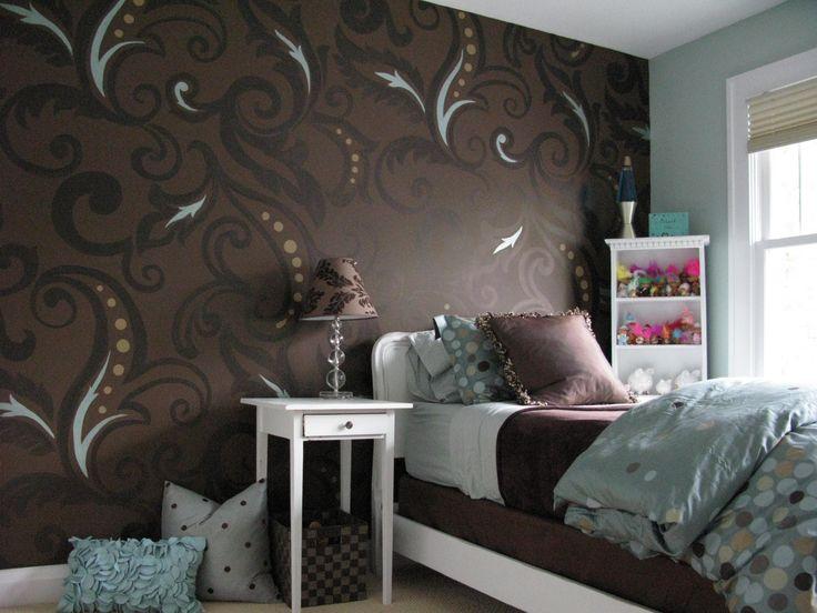Cool Wallpaper Designs For Bedroom Stunning Decorating Design