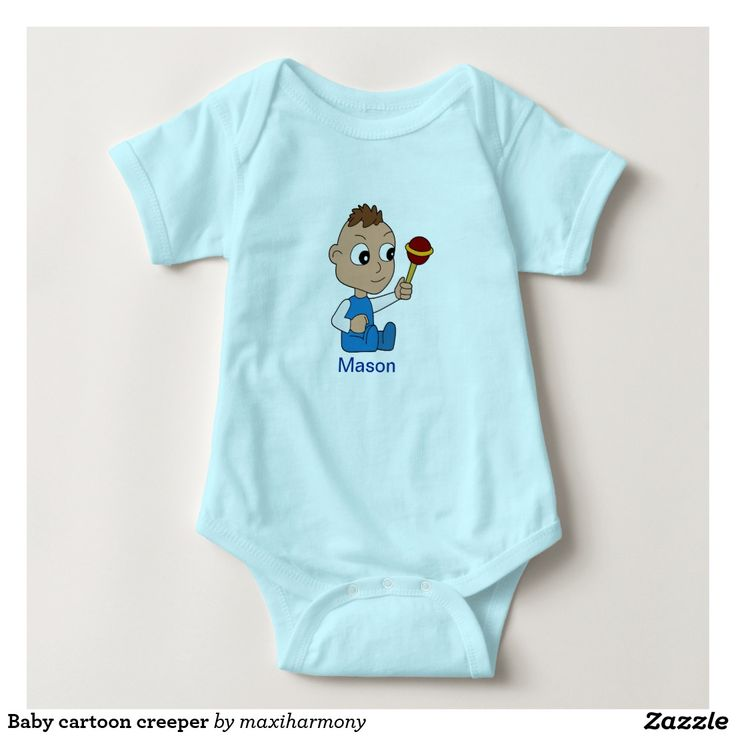 Baby cartoon creeper