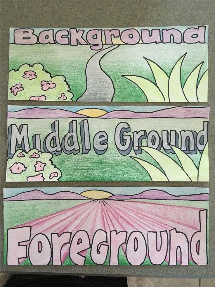 Vocab cards for teaching landscape vocab