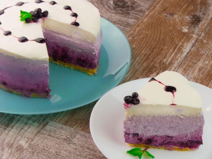 Cheesecake cu afine- cel mai ginagaș, sănătos și apetisant desert mâncat vreodată!