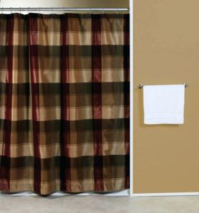 Nautica Plaid Shower Curtain