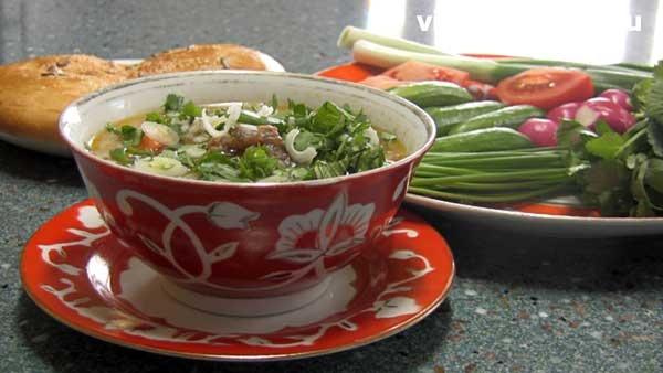 Рисовый суп с поджаркой (Мастава) от videoculinary.ru