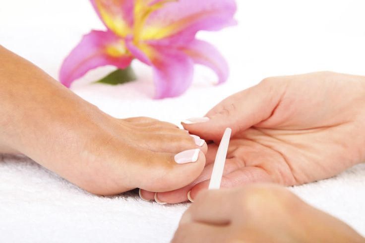 Consider treating your feet to a salon pedicure and maintain the smoothness with an intense moisturizer! http://qoo.ly/gk3f9