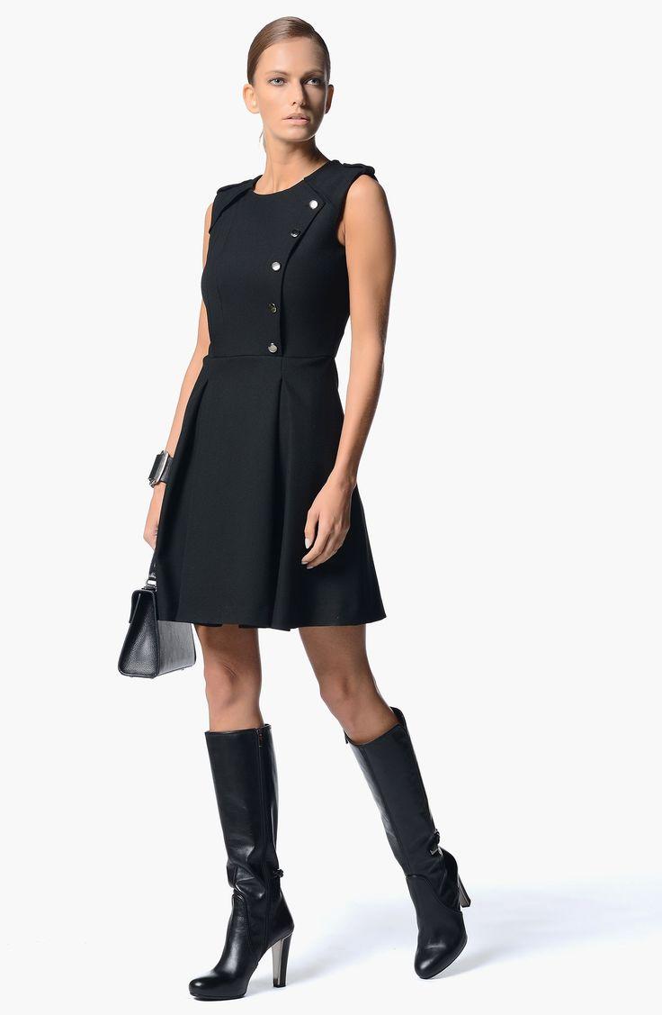 Modelleri ve elbise fiyatlar modasor com pictures to pin on pinterest - Network Siyah Klo Elbise