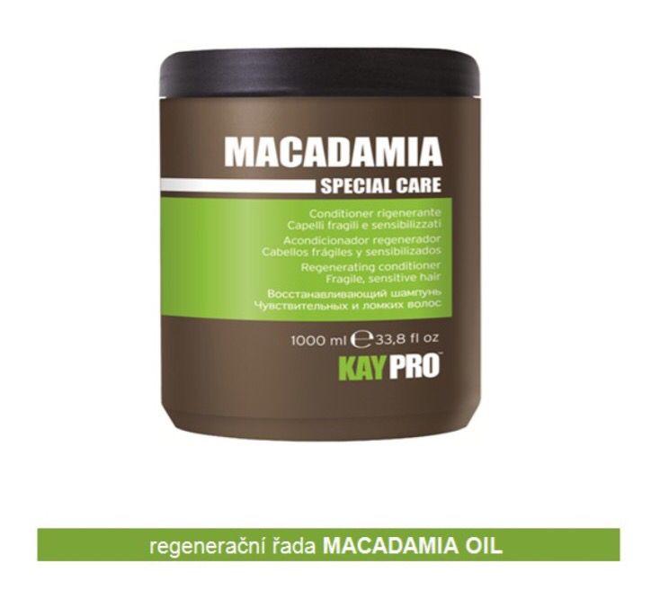 """www.pecePROvlasy.cz  NOVINKA MACADAMIA OIL conditioner (1000g)  Jedinečný regenerační kondicionér - maska s olejem Macadamia pro křehké a citlivé vlasy a roztřepené konečky. Vyvážené složení pomáhá """"rozplétat"""" vlasy. Zjemňuje vlasy bez jejich zatížení, dodává okamžitý lesk a vitalitu.  Použití: Umyjte vlasy šamponem Macadamia Oil shampoo, vysuště vlasy jemně ručníkem a poté naneste kondicionér rovnoměrně po celé délce vlasů. Nechte 2 - 3 minuty působit a poté opláchněte vodou."""