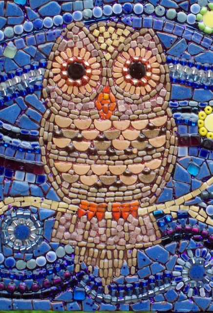 owl mosaics | Recent Photos The Commons Getty Collection Galleries World Map App ...