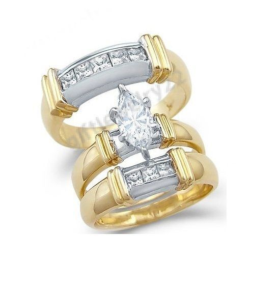 17 Best 1000 images about Trio Ring Set on Pinterest Black gold