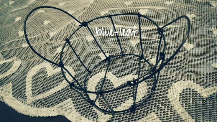 ワイヤーバスケット。Wire basket.