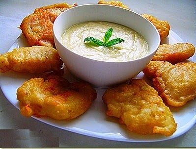 - Fried swordfish with garlic - Category: Mediterranean Diet, Cretan Recipe.     Serves: 4,    Preparation time: 35min,   Level: Easy