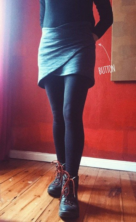 Hiking skirt DIY MYOG