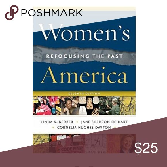 📚 History Text Book Women's America: Refocusing the past 7th edition. In fair condition. Used in my women's history course at Sierra college. Other