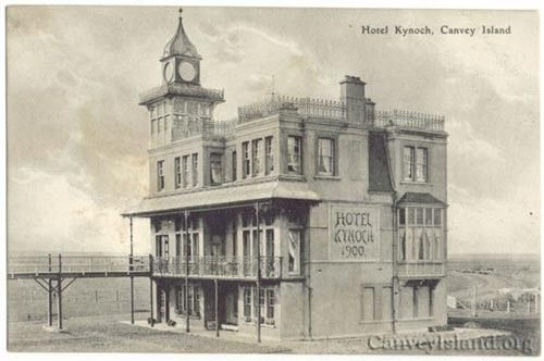 Hotel Kynoch 1900 - View from the East on the Sea Wall, Canvey Island
