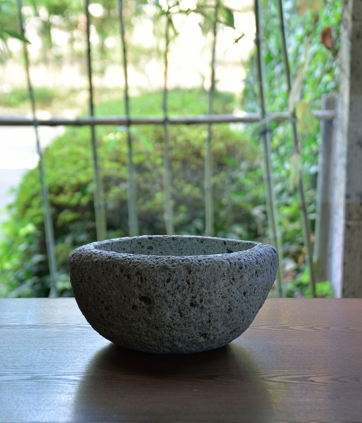 Oya Stoneware Series -Wine Cooler-. The Oya Stone is a type of rock called tuff. It have been produced from mountain in Tochigi Japan. Miranda style designed new tableware series made by Oya Stone.