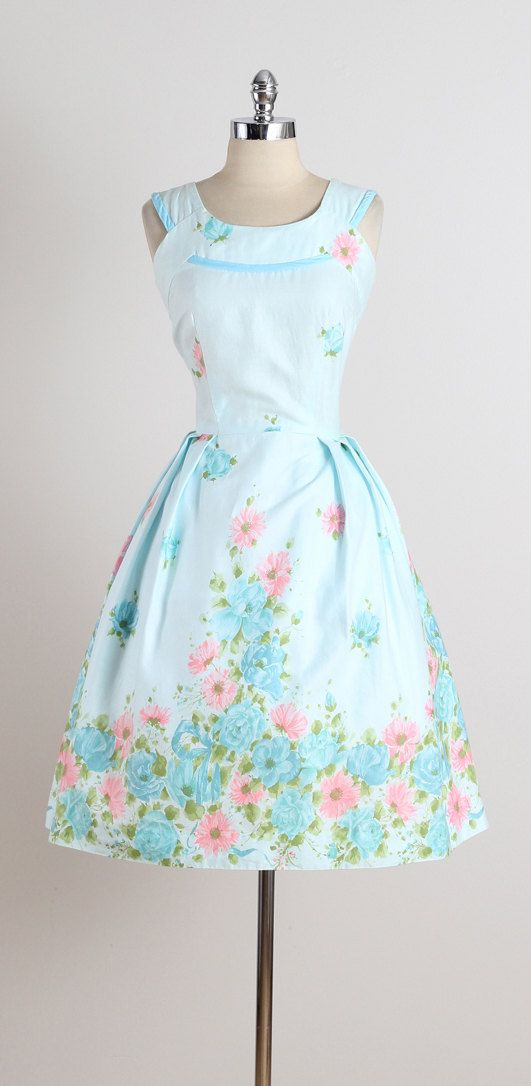 Don-About . vintage 1950s dress . vintage by millstreetvintage