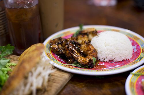 bún-ker - Tom Thit Ram (caramelized wild shrimp):  http://www.flickr.com/photos/nicknamemiket/9291565982/