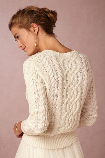 BHLDN Danae Sweater in  Sale Cover Ups at BHLDN