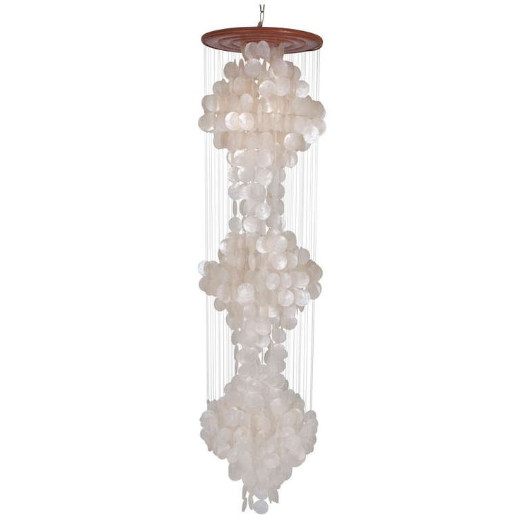 chandelier with plan regard shell seashell sealife remodel wayfair house light sea crystal to intended reviews new for elegant chandeliers capiz household kouboo