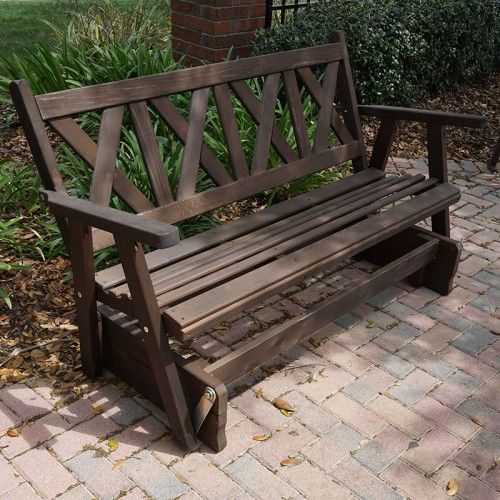 Porchgate Amish Made Haven 3 Person Cedar Glider