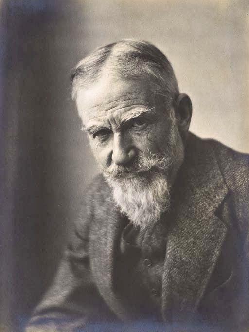 Portrait de Georges Bernard Shaw, E.O. (Emil Otto) Hoppe.