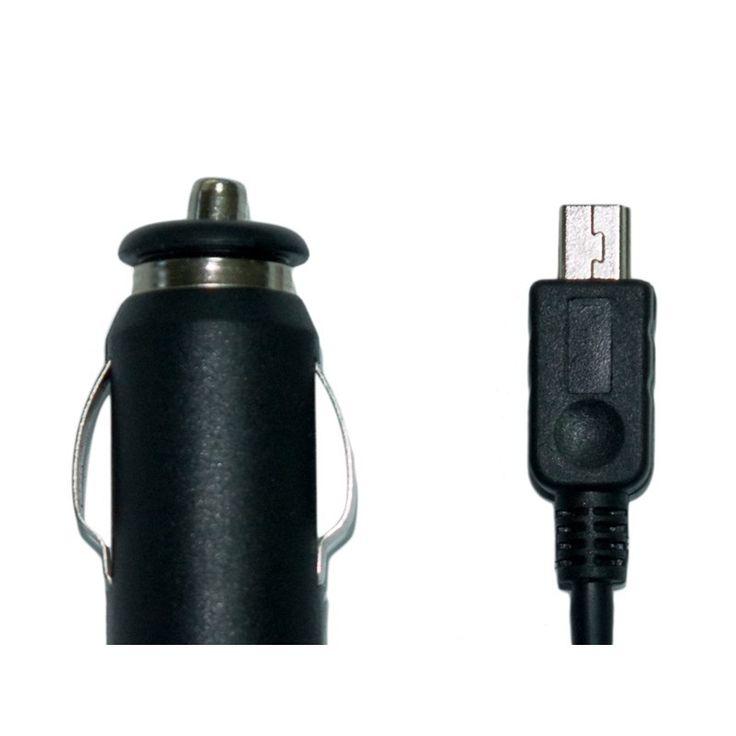 Cargador USB para automóvil Recarga la batería de tu dispositivo en el coche  Compatible con todas las series Vexia y universal para equipos con carga USB.   Especificaciones técnicas Entrada: 12V-24V=1.1A Salida: 5V=2ª Conector: Mini USB macho http://www.vexia.eu/es/