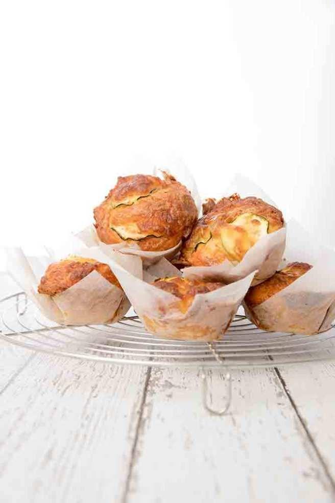 Zucchini Bacon Muffins - Lunchbox Idea - ThermoKitchen