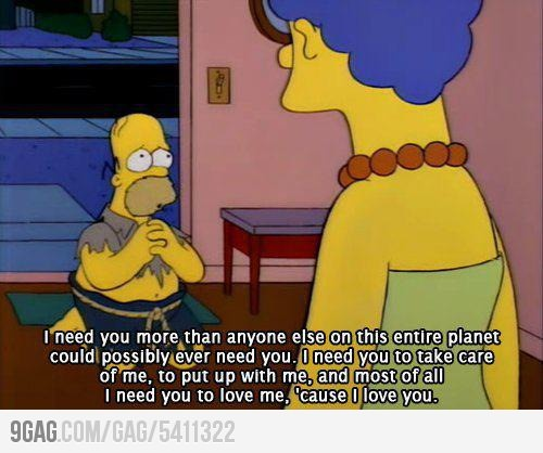 #truth: Quotes, I Love You, Stuff, The Simpsons, I Need You, Things, Homer Simpson, Homersimpson