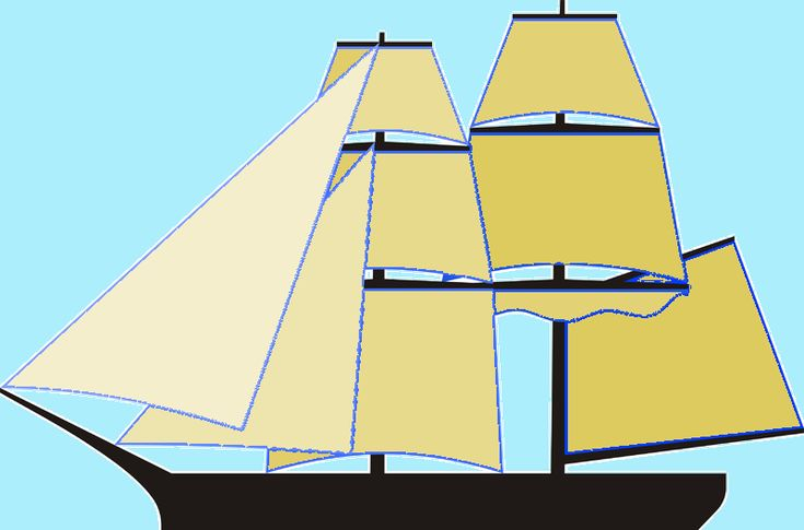 Configuration of typical brig-sloop.  In the 1770s, the two-masted sloop re-appeared in a new guise as the brig sloop. The successor to the former snow sloops, brig sloops had two masts while ship sloops continued to have three (since a brig is a two-masted, square-rigged vessel and a ship is a square-rigger with three or more masts, though invariably only three in that period).