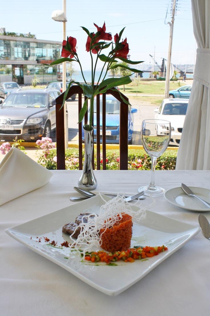 Almuerzo en Restaurant Don Joaquín #almuerzo #gourmet #HsmChile #VinadelMar