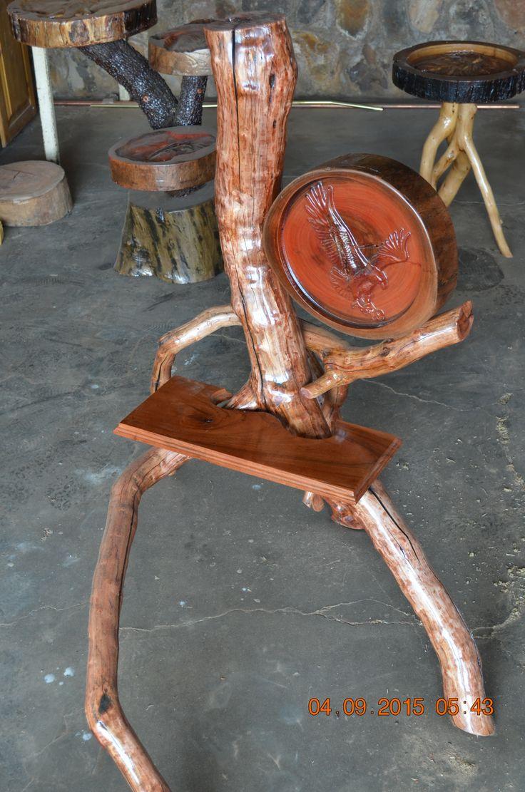 Eagle Lamp Log