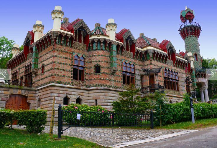 El Capricho, Antonio Gaudi. 1883. Cantabria, Spain.