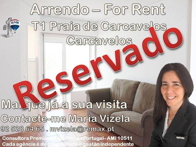 Maria Vizela Remax Lisboa Oeiras Cascais: Mais um cliente feliz! Mais um imóvel reservado!