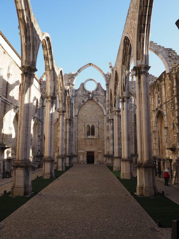 carmo convent church nave #carmoconvent #lisbon #cathedral @portugal #ruins