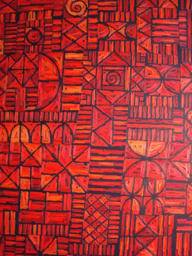 Africa has a rich tradition of arts and crafts. It has a variety of paintings. They are among the most colorful types of African artwork.