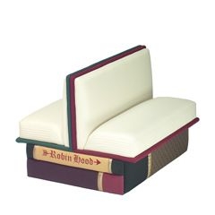 I LOVE all the book furniture by Big Cozy Books & have long wanted (but can't afford)