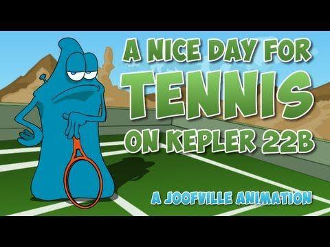 Tennis on Kepler 22b - Sci Fi Animated Alien Cartoon