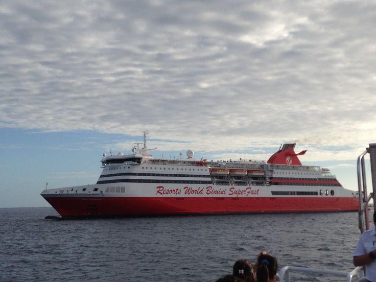 The Bimini Superfast Ferry From Miami To Bimini Bahamas Cool - Bimini superfast cruise ship