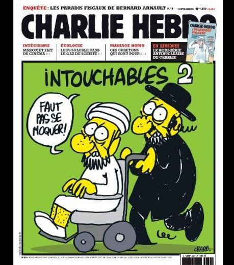 """In France,in 2011, the very controversial magazine """"Charlie Hebdo"""" has launched a huge polemic after publishing (again) some cartoons reprensenting the Muslim prophet """"Mahomet"""". The reactions have been very violent in France and a debate started about whether it was the right of free press and expression or if it was provocation against muslims.  Here is an article (in english) which explains this debate…"""