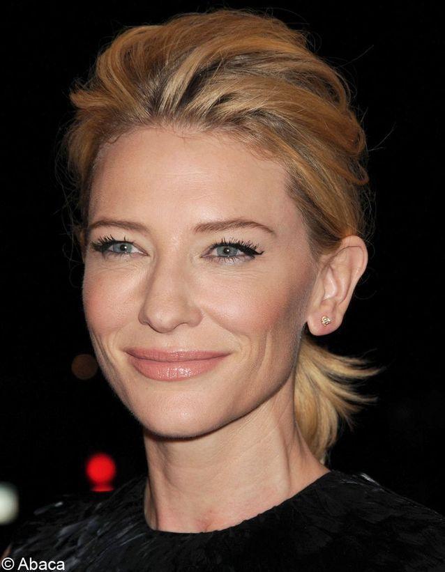 Cate Blanchett – #KurzhaarfrisurenDamen50plus #KurzhaarfrisurenDamenasymmetrisch #KurzhaarfrisurenDamendunkelblond