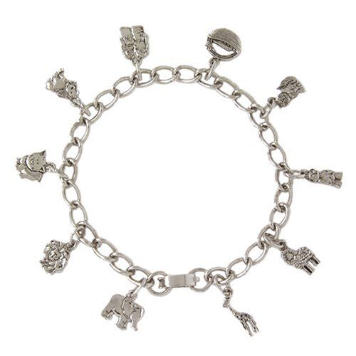 Bob Siemon Pewter Noah's Ark Children's Bracelet Amazon Curated Collection. $22.99. Save 18% Off!