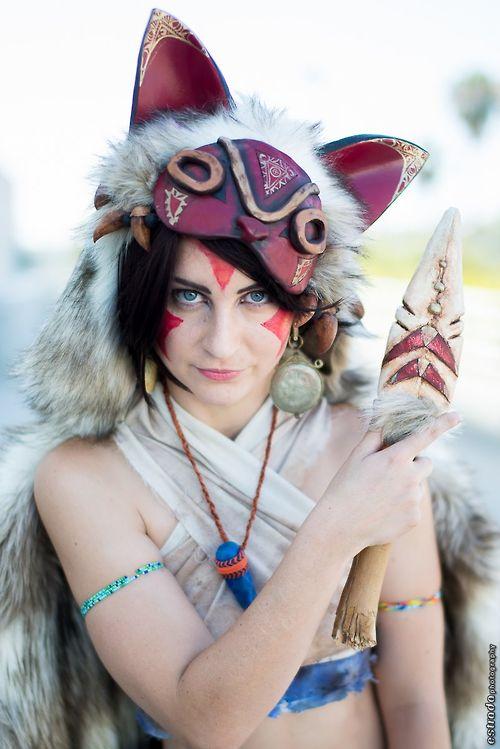 Princess Mononoke from Princess Mononoke  Cosplayer: Meisha Mock [TM |DA | FB]  Photographers: Estrada Photography(#1, #2) Joits Photograp...